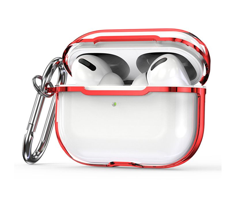 Impact Protection Airpods Pro Case (Red Plating)