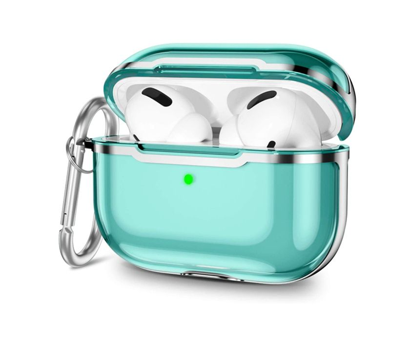 Impact Protection Airpods Pro Case (Light Blue)